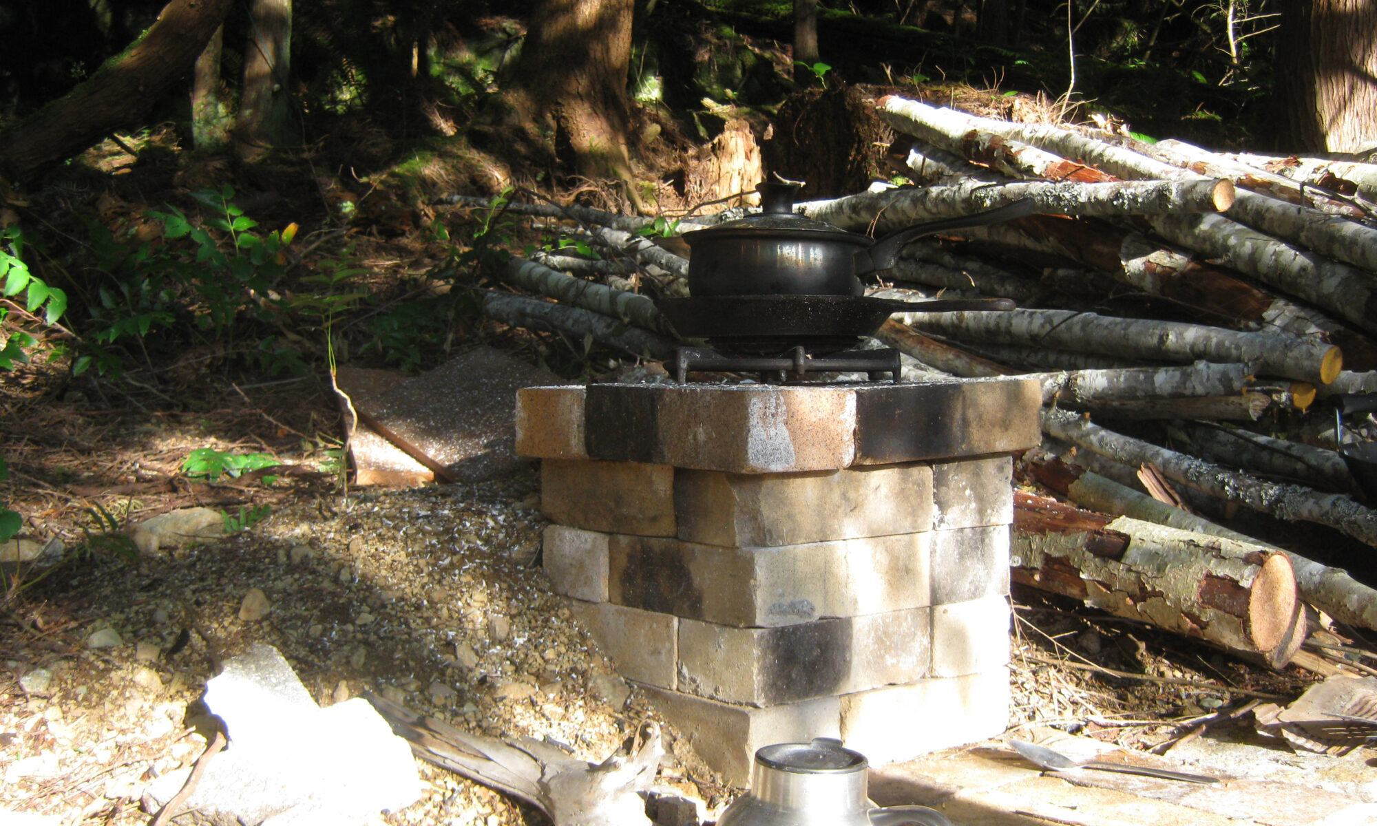 permaculture rocket stove