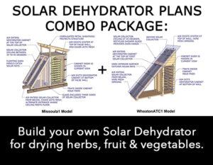 DIY Solar Dehydrator plants