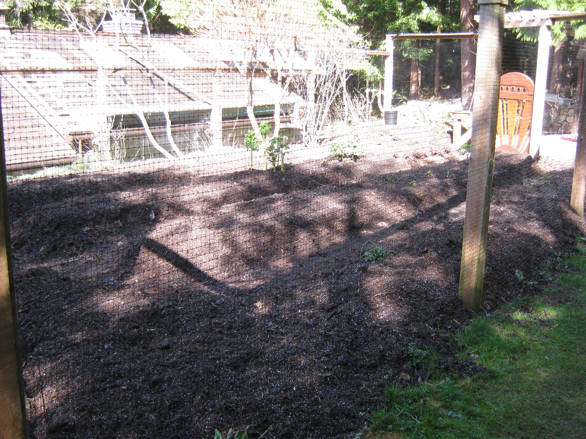 garden is ready for planting