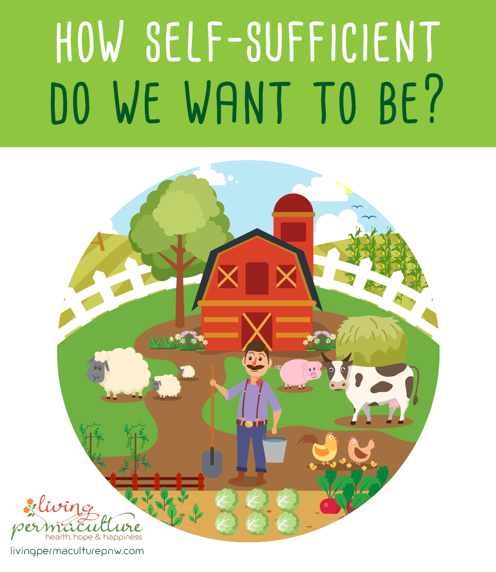 how self-sufficient do we want to be?