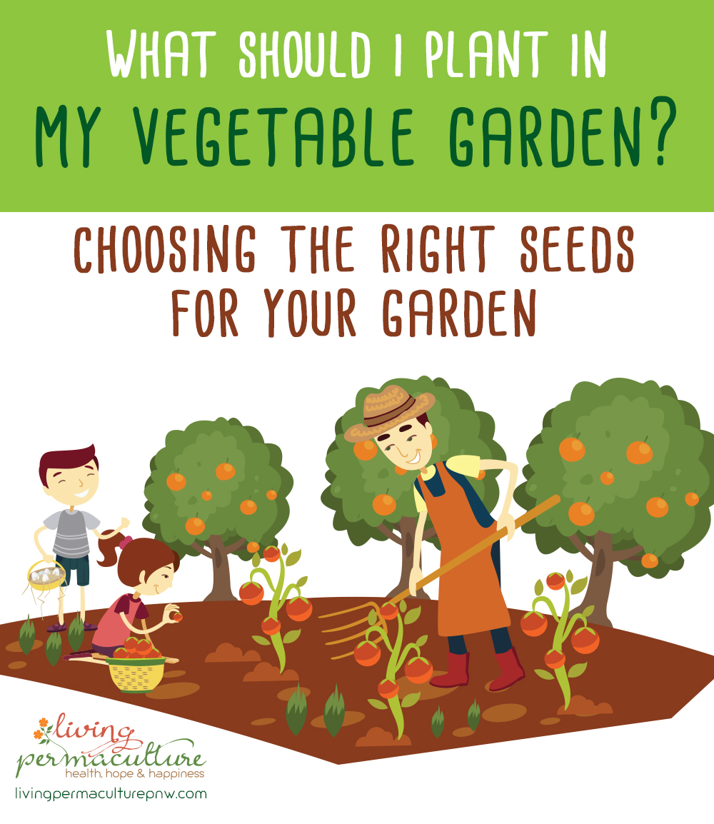 what should i plant in my vegetable garden