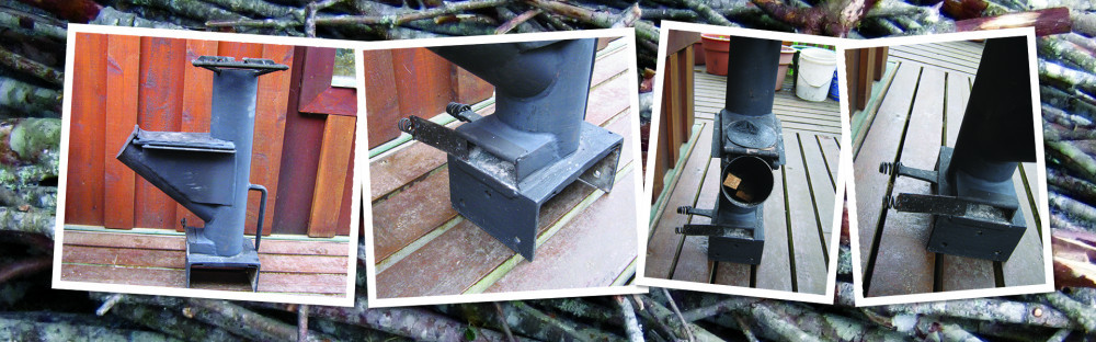 rocket stove construction